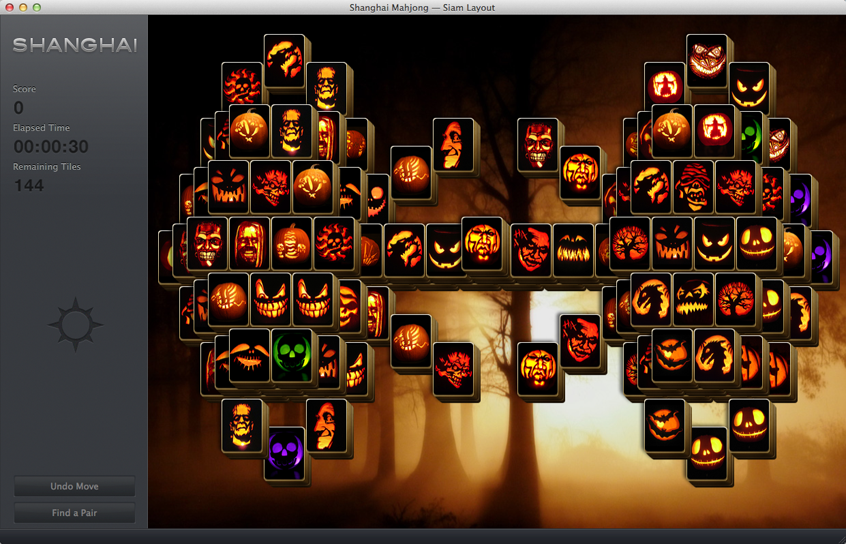 SHANGHAI MAHJONG offers Halloween Puzzle Treat - Touch Arcade